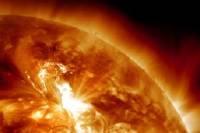 Вспышка на Солнце вызовет сильные магнитные бури на Земле