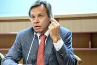 Пушков назвал циничным поздравление Порошенко жителей Донбасса