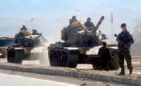 ВС Турции нанесли удар по позициям курдов в Сирии