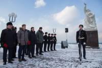 В Невельске почтили память рыбаков, которые погибли в Беринговом море в 1965 году