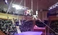 Видео: в Белоруссии сорвалась с высоты цирковая гимнастка из Москвы