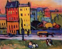 Суд разрешил Музею Амстердама не возвращать купленную во время Второй мировой войны картину Кандинского