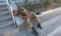 Украинские военные разграбили и разгромили пансионат у границы с Крымом