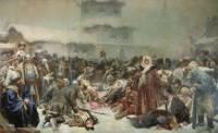 В Третьяковской галерее представлены работы современников Сурикова