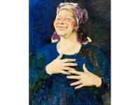 На торгах в Нью-Йорке почти за $200 тыс. продали картину Малявина