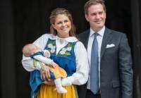Шведская принцесса Мадлен стала матерью в третий раз