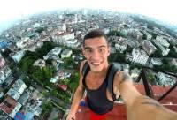 В Чили задержали забравшегося на 22-этажное здание руфера из Петербурга