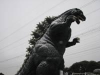 В Токио установили самую большую в Японии статую Годзиллы