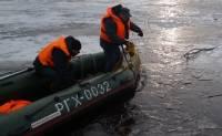 В Новосибирской области погиб водитель гусеничного вездехода, провалившегося под лед