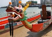 В Китае столкнулись «драконьи» лодки: погибли 11 человек