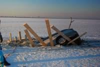 В Приамурье двое детей погибли в аварии на льду Зейского водохранилища