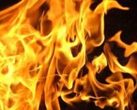 В Удмуртии площадь пожара в бывшей военной части возросла до 20 гектаров