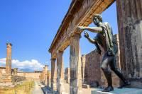 В Помпеях найдена «мумия» лошади, погибшей в древнеримской конюшне