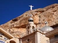 В Сирии восстанавливают православный храм в городе Маалюля