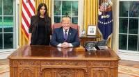 Дональд Трамп принял в Белом доме Ким Кардашьян