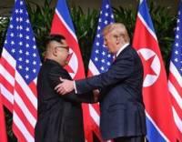 В Сингапуре состоялась встреча Дональда Трампа и Ким Чен Ына