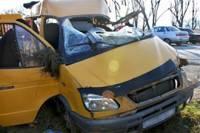 В Дагестане 2 человека погибли, 17 попали в больницу после столкновения маршрутки с грузовиком