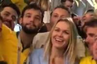 Бразильских фанатов накажут за похабные шутки над россиянкой