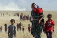 Российские военные раздали около десяти тонн гуманитарной помощи под Дамаском