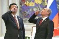 Путин и Цзиньпин приготовили китайские деликатесы