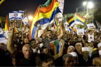 В Тель-Авиве прошел массовый митинг против закона о еврейском характере Израиля