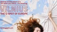 Католики не одобрили рекламу Вильнюса с сексуальным подтекстом