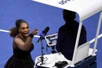 Серена Уильямс устроила скандал после проигрыша в финале US Open