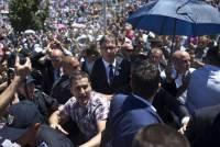 Албанцы не дали сербскому президенту проехать в одно из сел в Косове
