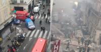 СМИ: Одна из жертв взрыва в Париже находилась в отеле напротив сгоревшей булочной