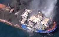В Керченском проливе в результате пожара на танкерах погибли два моряка