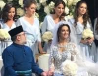 Женившийся на «Мисс Москва-2015» король Малайзии отрекся от престола