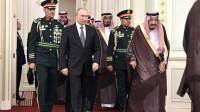 Путин прибыл на переговоры во дворец короля Саудовской Аравии