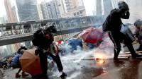 Власти Гонконга принесли извинения за обстрел чернилами ворот мечети