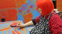 В США запустят воздушный шар японской художницы Яеи Кусамы
