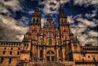 Собор Святого Иакова в Сантьяго-де-Компостела (Испания)