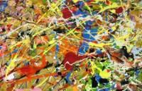 Ученые установили, почему на картинах Поллока нет случайных клякс