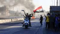 В Багдаде вновь начались столкновения протестующих и полиции, есть жертвы