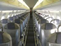 В Самаре самолет вынужденно приземлился из-за курившей в туалете пассажирки