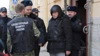 Историк Соколов доставлен к Мойке в бронежилете и шлеме