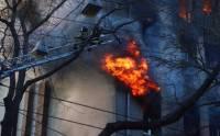 В Одессе при пожаре в колледже погибла женщина, пострадали около 30 человек