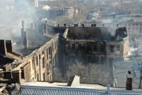 На Украине из-за пожара в Одесском колледже объявлен траур