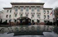 В Киеве у посольства РФ прогремел взрыв