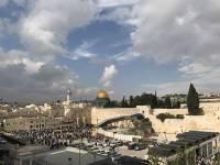 В Иерусалиме произошел пожар на Храмовой горе
