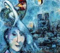 Галерея Уффици в знак солидарности с Нотр-Дамом выставила полотно Марка Шагала