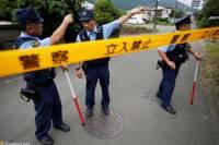 В Японии автобус въехал в пешеходов