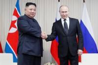 Владимир Путин обменялся подарками с Ким Чен Ыном