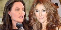 Селин Дион обиделась на Анджелину Джоли за отказ сыграть ее роль
