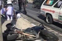В Паттайе под колесами мотоцикла погибла россиянка