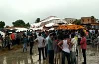 В Индии не менее 14 человек погибли при обрушении павильона
