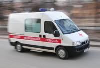 В Челябинске после ДТП машину вынесло на тротуар: пострадали 4 человека